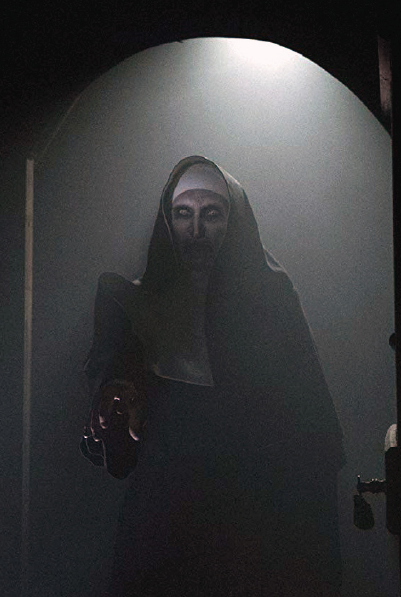 """Bonnie Aarons is not so scary in """"The Nun."""""""