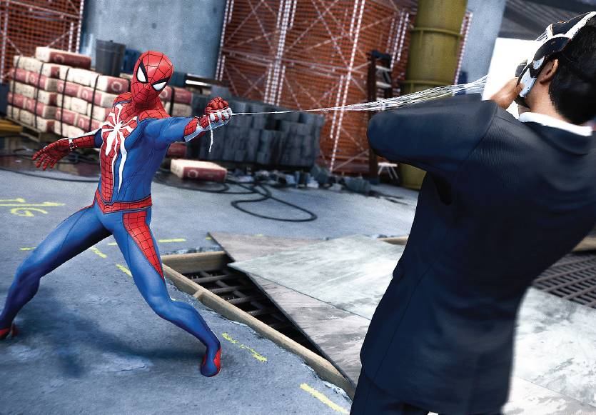 New Marvel video game brings Spiderman to the PS4 platform.