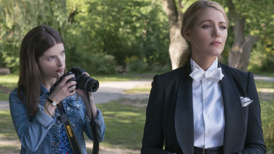 """Anna Kendrick, left, photographs Blake Lively in """"A Simple Favor."""""""