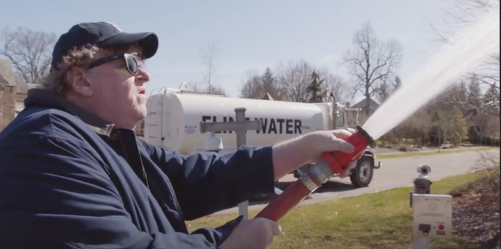 """Michael Moore appears in his new documentary """"Fahrenheit 11/9"""""""