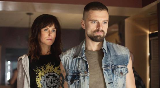 "Sebastian Stan and Nicole Kidman in ""Destroyer."""