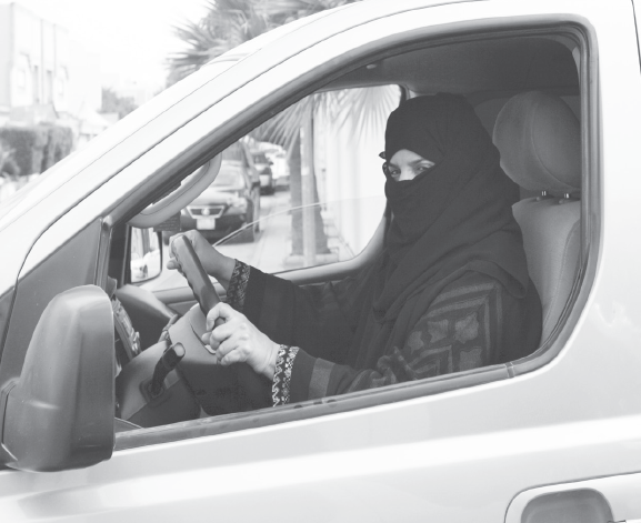 Women in Saudi Arabia are being allowed to drive, but for how long?