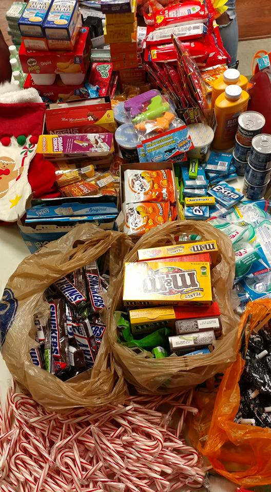 2016 Winter Holiday Care Package Goodies