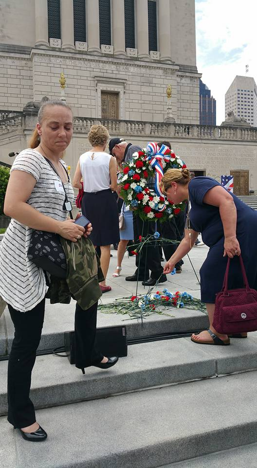 2016 Gold Star Families Memorial Downtown Indy