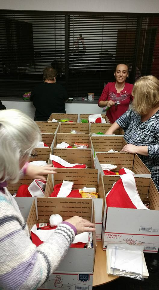 2015 Christmas Care Package Night