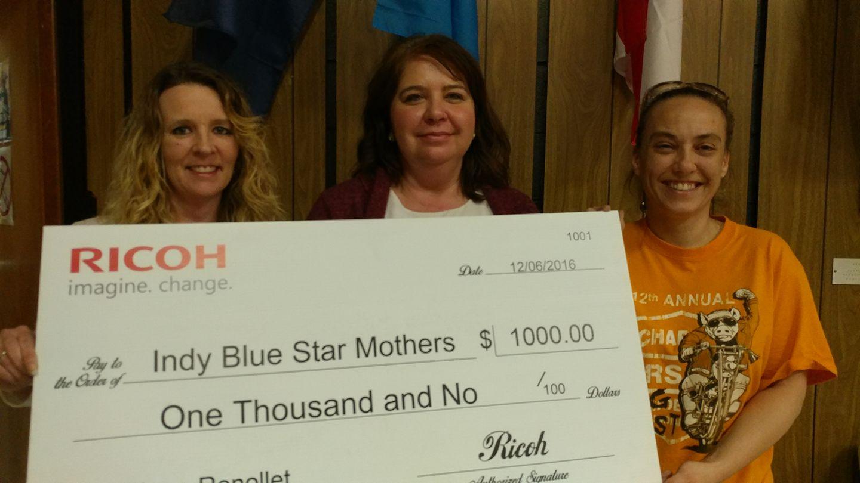 Ricoh rewards employee dedication to charities