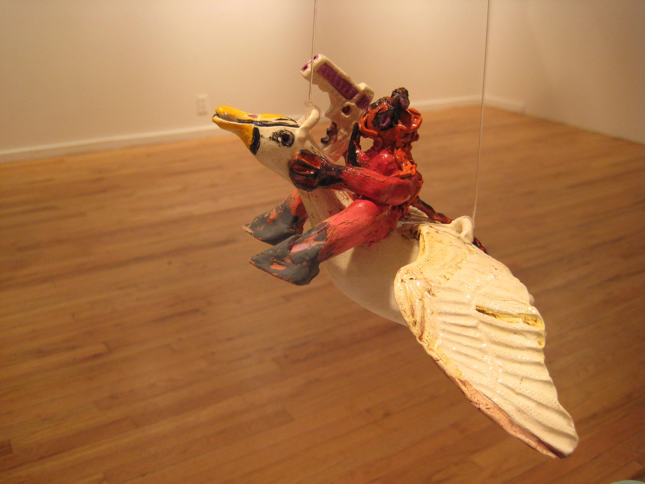 Krampus hanging at Ceres Gallery