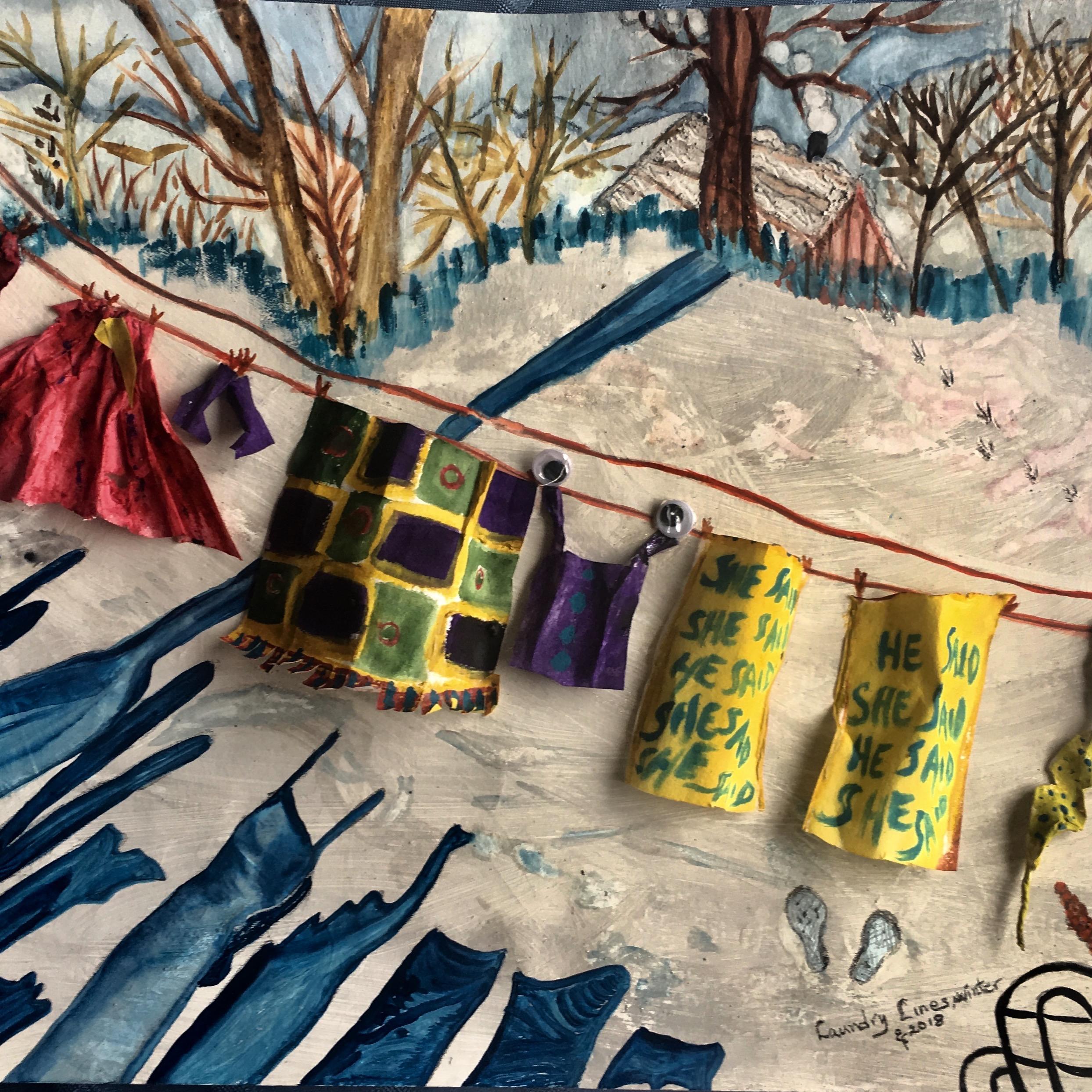 ElisabethFrischauf-LaundryLines Winter-Mixedmedia-USA:Austria.jpg