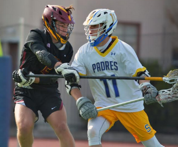 John is a standout LSM for Menlo-Atherton HS