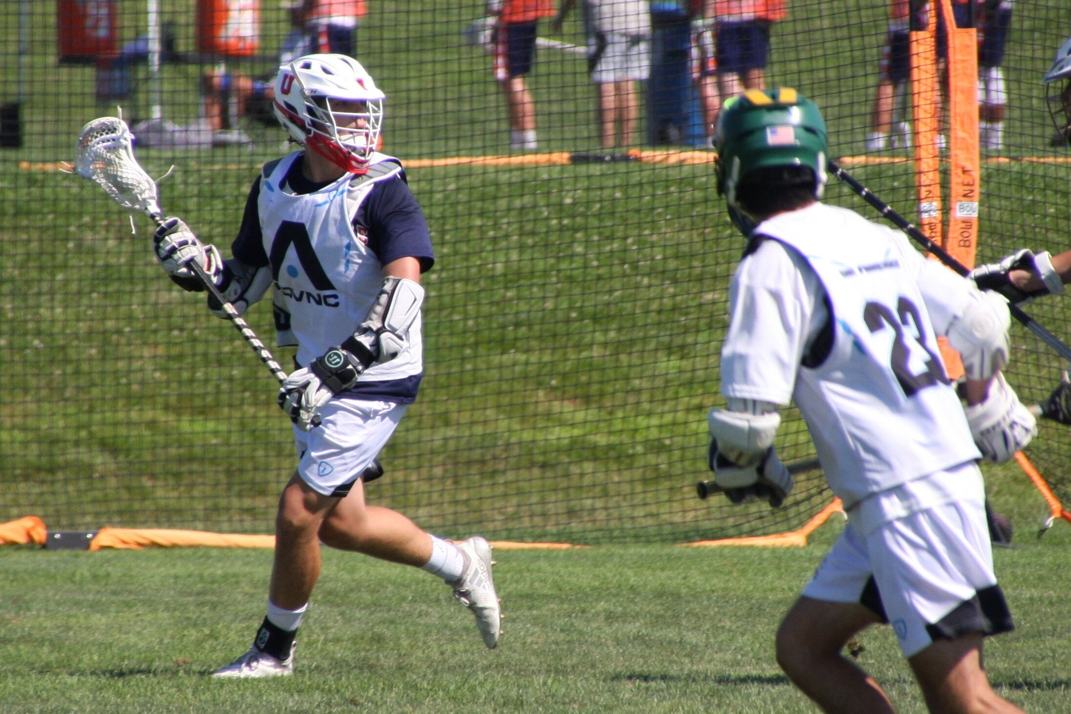 Solmssen plays both attack and middie for his ADVNC SF '20 squad
