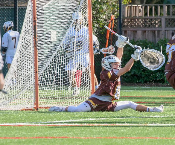 Wood is a standout goalie for the Saint Francis Lancers in Mountain View, CA