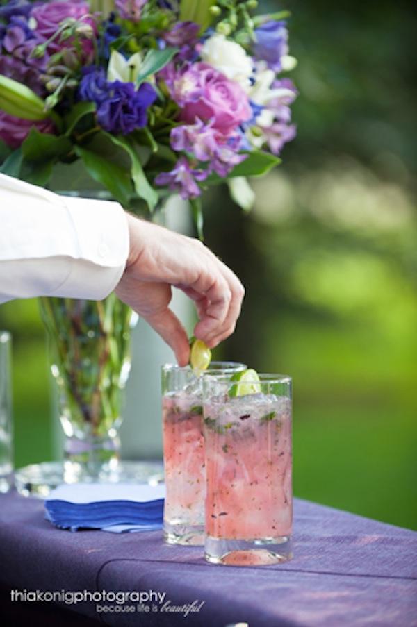 Wedding night drinks