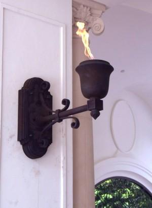 Exterior Cast Lamp