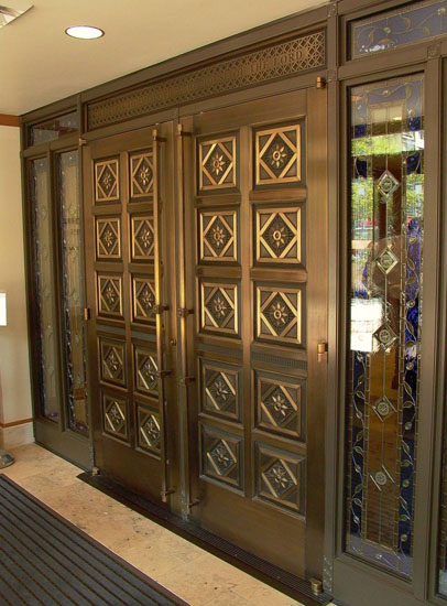 Cast Bronze Doors