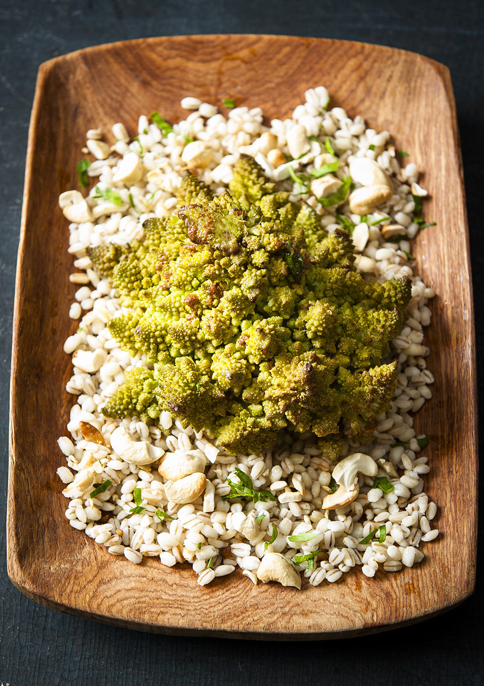 METTE NIELSEN - Whole Roasted Romanesco With Curry Butter