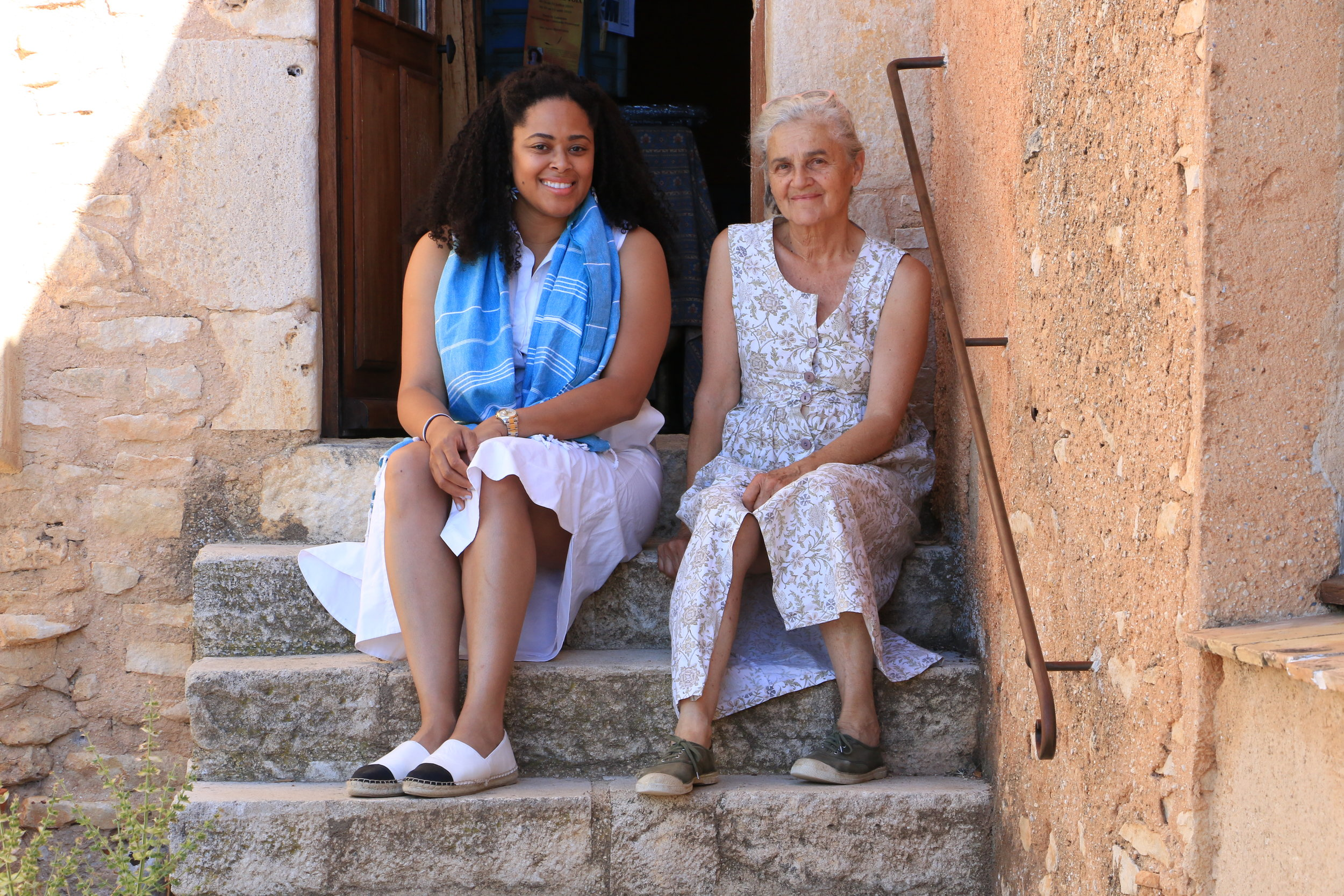 Beatrice,  Provençal Bed + Breakfast proprietor