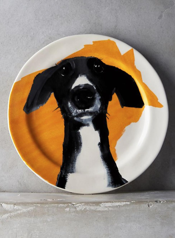 Dog-A-Day Salad Plate