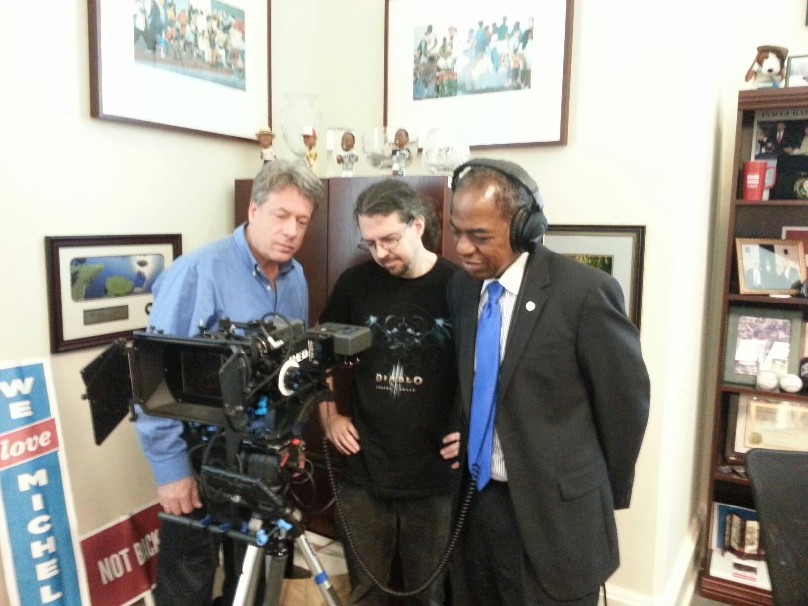 Directing shoot with Councilmember Orange.jpeg