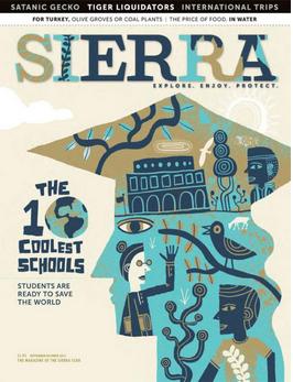 Sierra Magazine Sept / Oct 2015