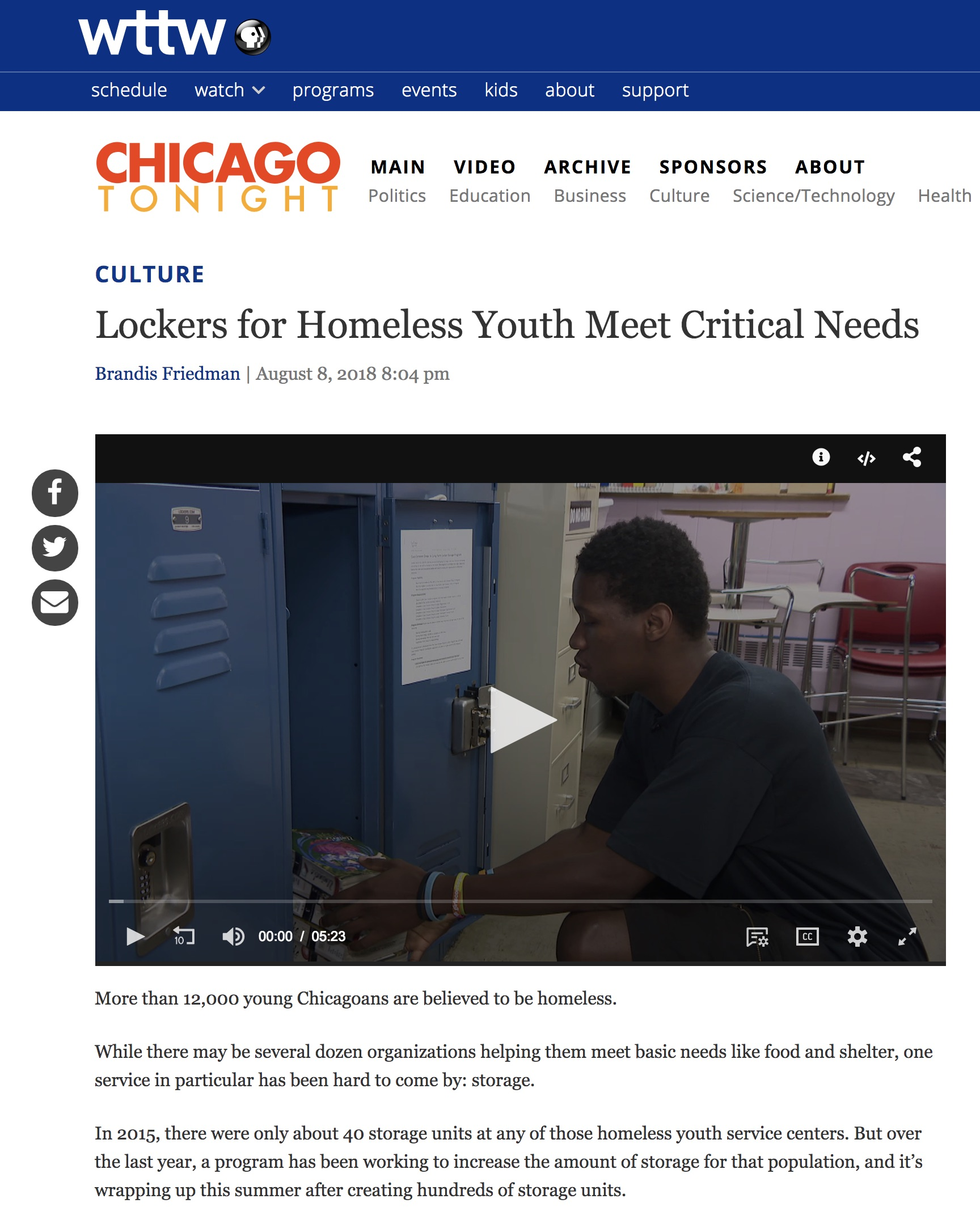 Chicago Tonight - Youth Storage Lockers - August 8 2018.jpg