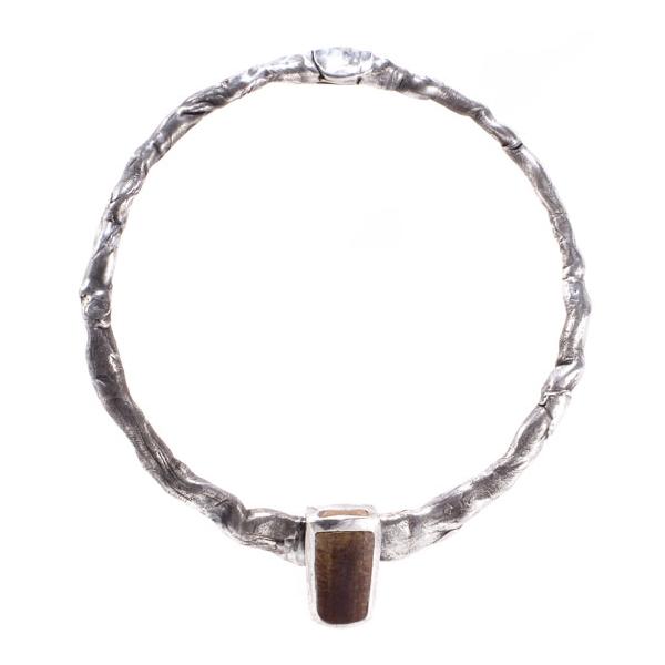 Horseshoe Crab Clasp Necklace