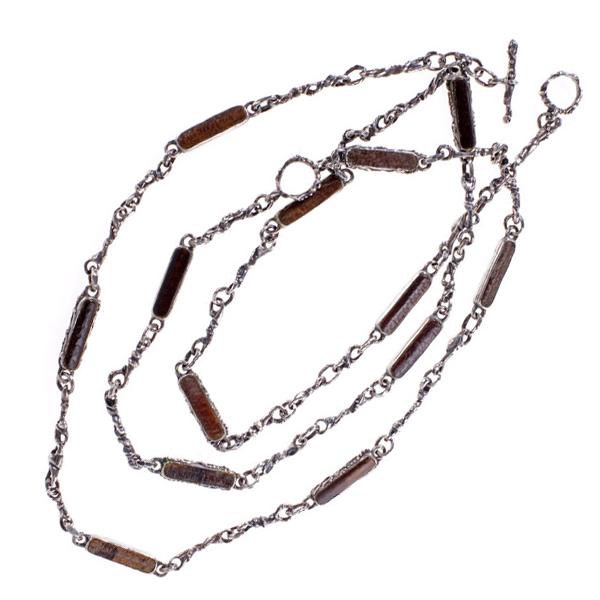 Horseshoe Crab Double Toggle Necklace
