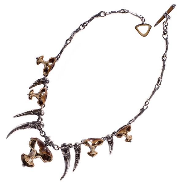 Monkey Head Necklace
