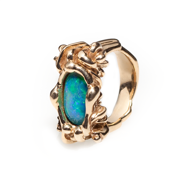 Coral Polyp Ring