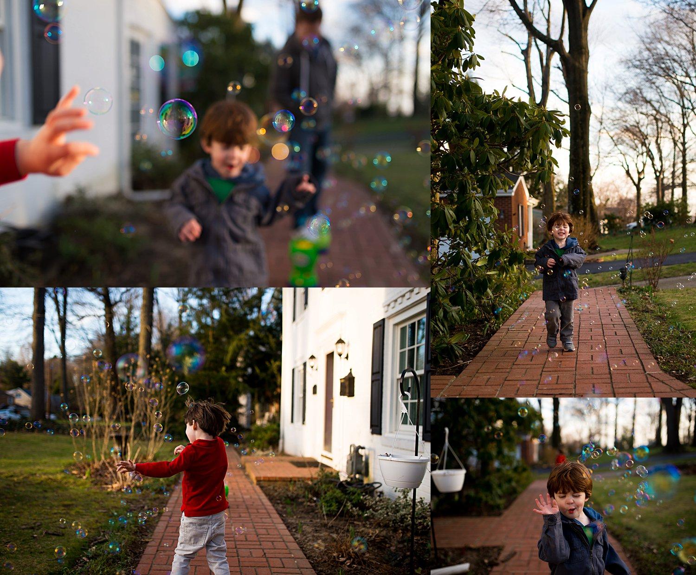 greensburg family photographer bubble play