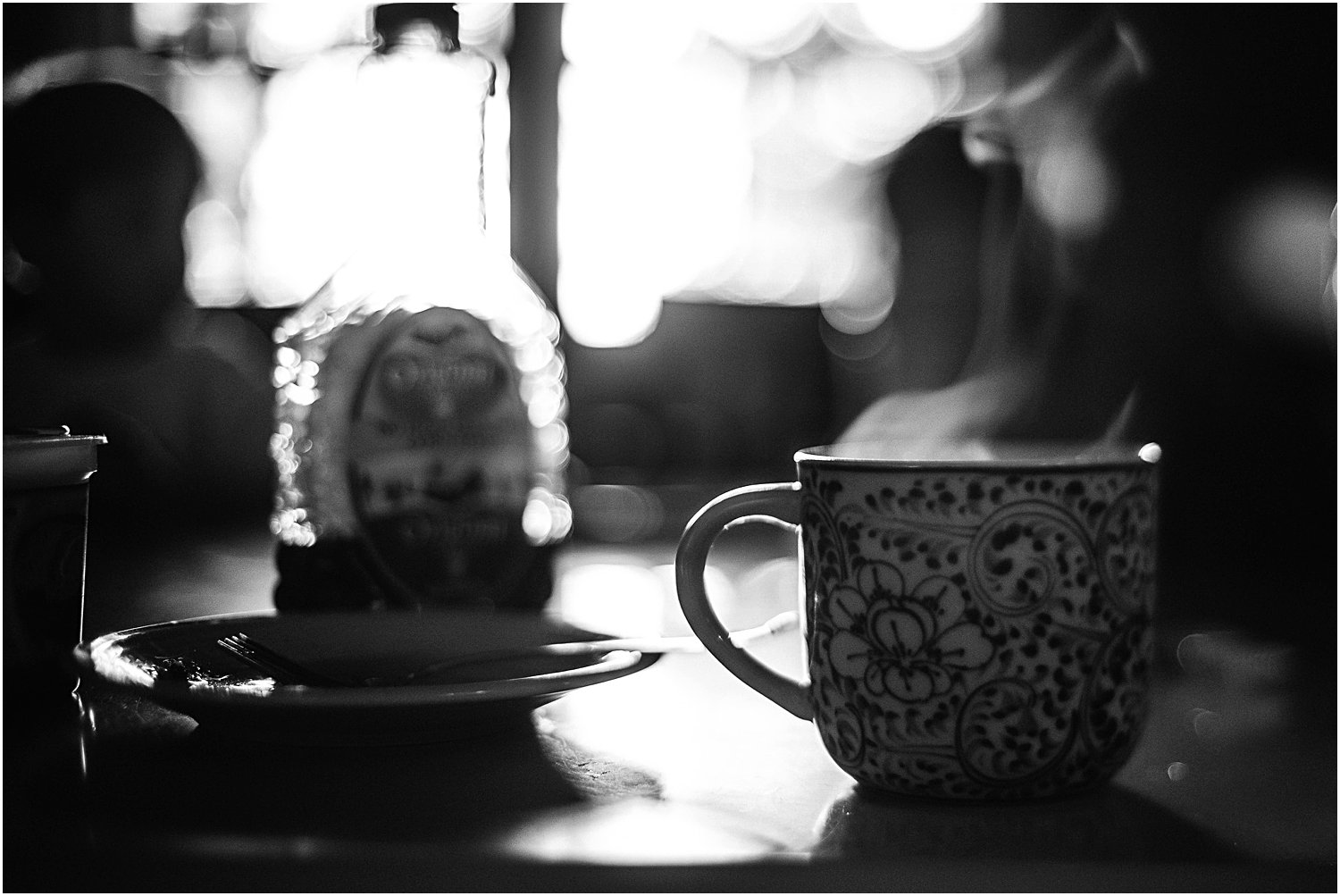 freelensed coffee steam