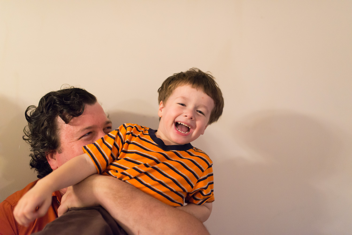 """""""When you and your daddy were together, shrieks of laughter would usually follow."""""""