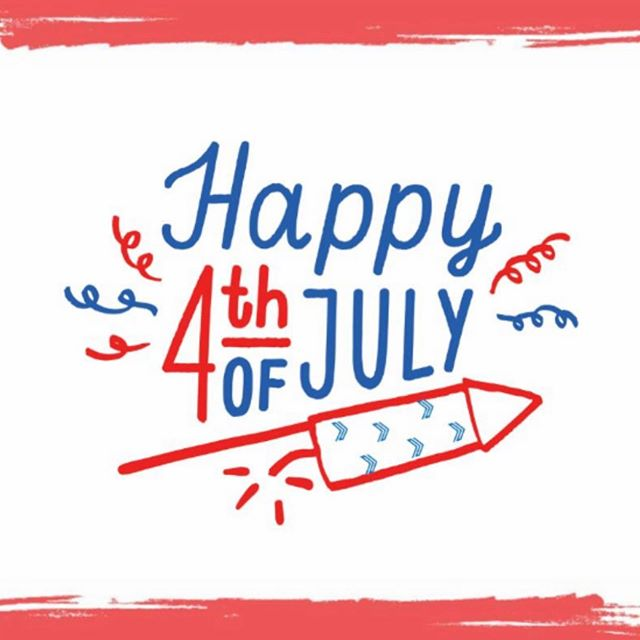 Wishing everyone a safe and Happy 4th of July!! #happybirthdayamerica 🇺🇸👏🏼