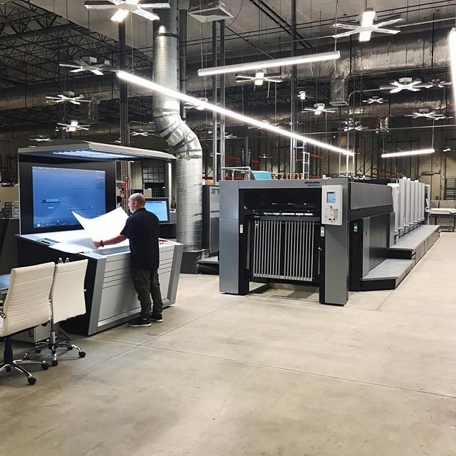 Speed, security and redundancy are critical components that were front and center during our move. Check out the latest state-of-the-art Heidelberg CX 102, which has been added to our arsenal of print equipment to deliver exceptional results on an extensive range of substrates.