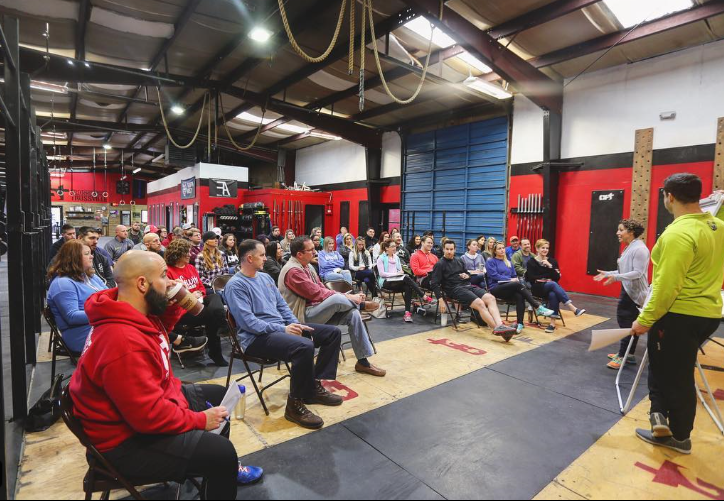 CFT Nutrition Seminar with Melissa Donaldson and Andrew Rape
