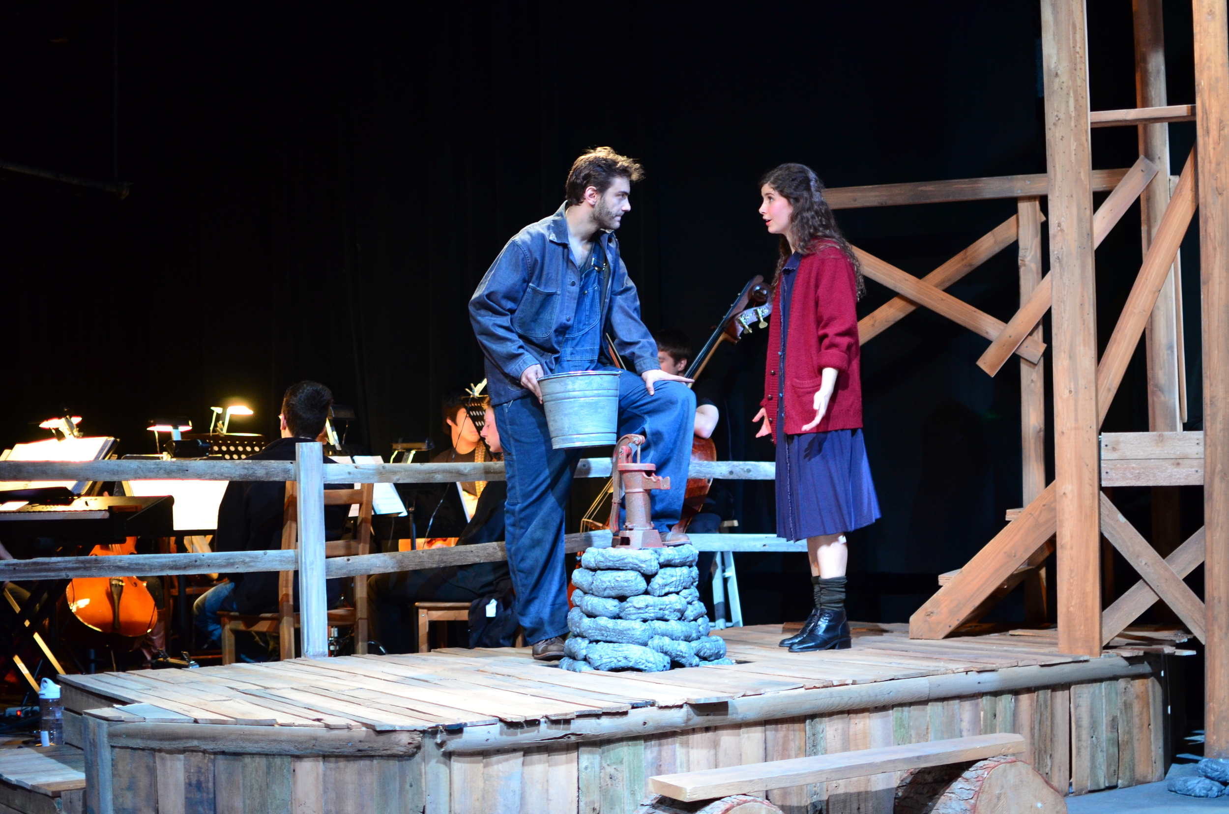 Ward ( Nathaniel Janis ) and Orlena ( Laurel Durning-Hammond ).
