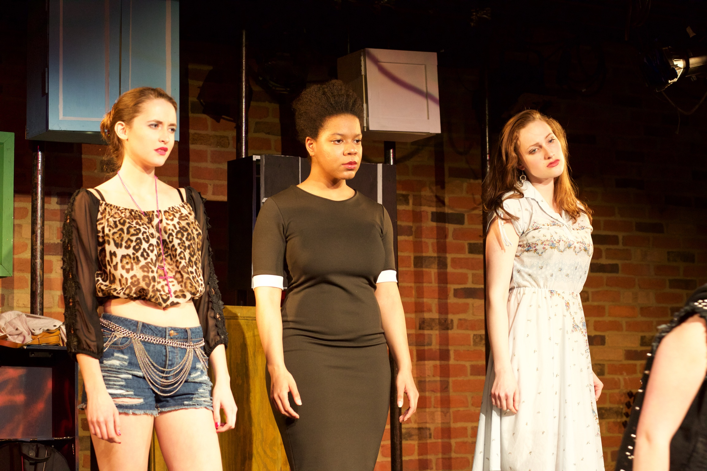 Starr ( Lucie Ledbetter ), Olivia ( Zina Ellis ) and Claire ( Lucy Fleming ).