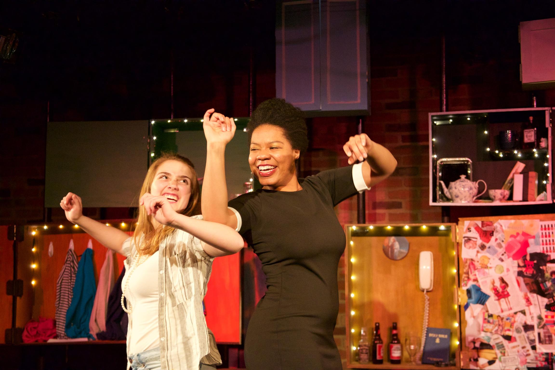 Astrid ( Sarah Chapin ) and Olivia ( Zina Ellis ).