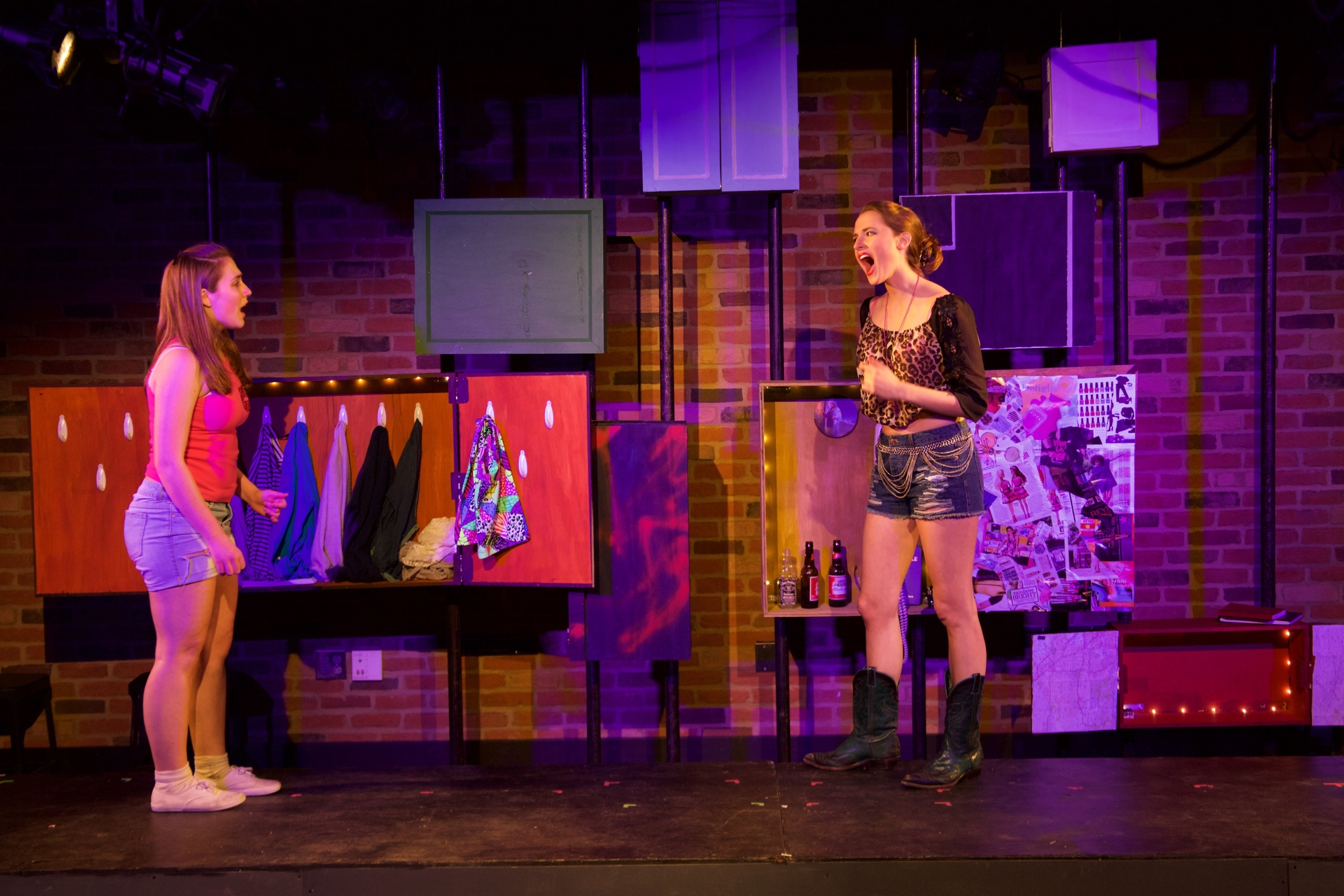 Astrid ( Sarah Chapin ) and Starr ( Lucie Ledbetter ).