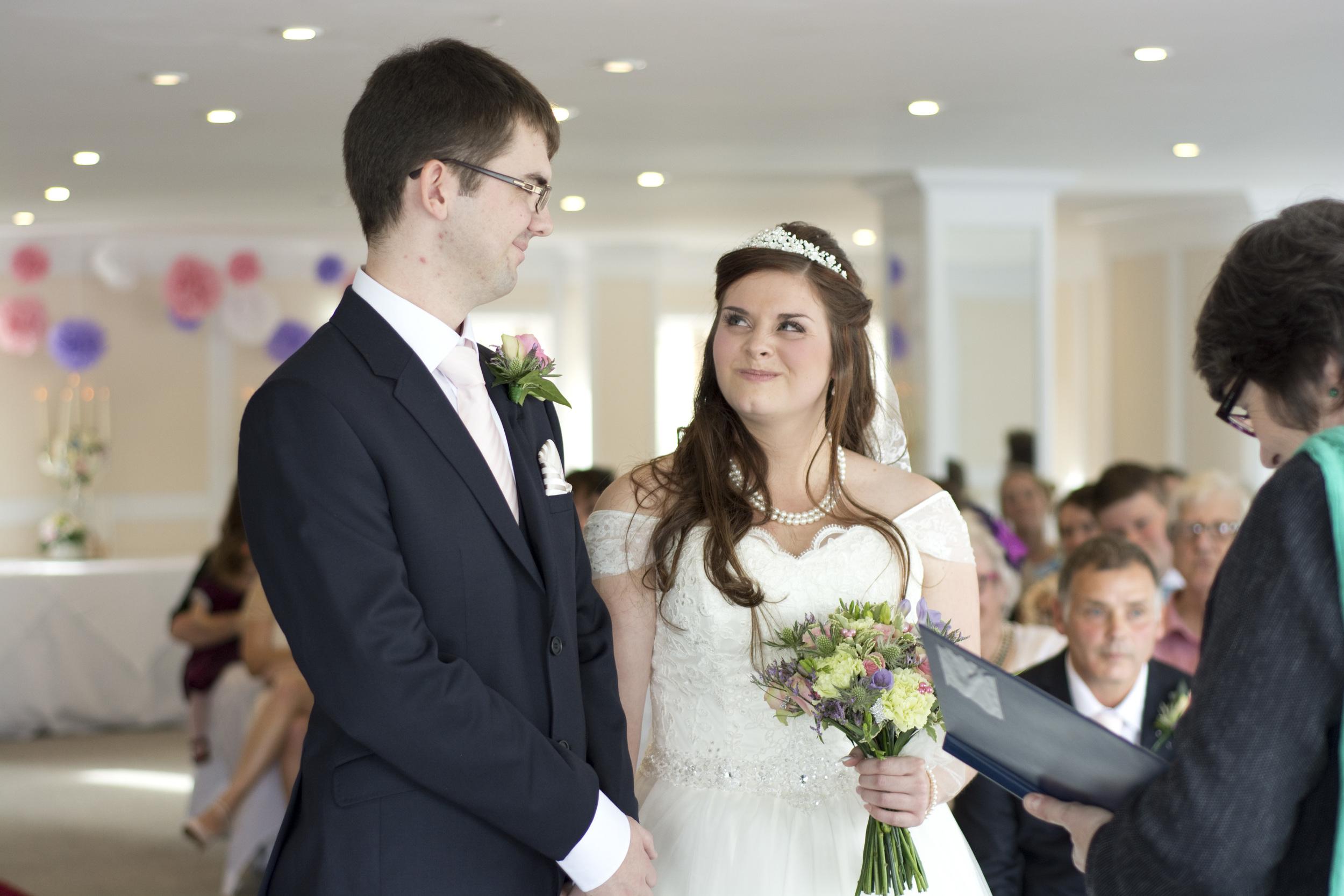 The way she looks at him at The GreenBank Hotel Falmouth