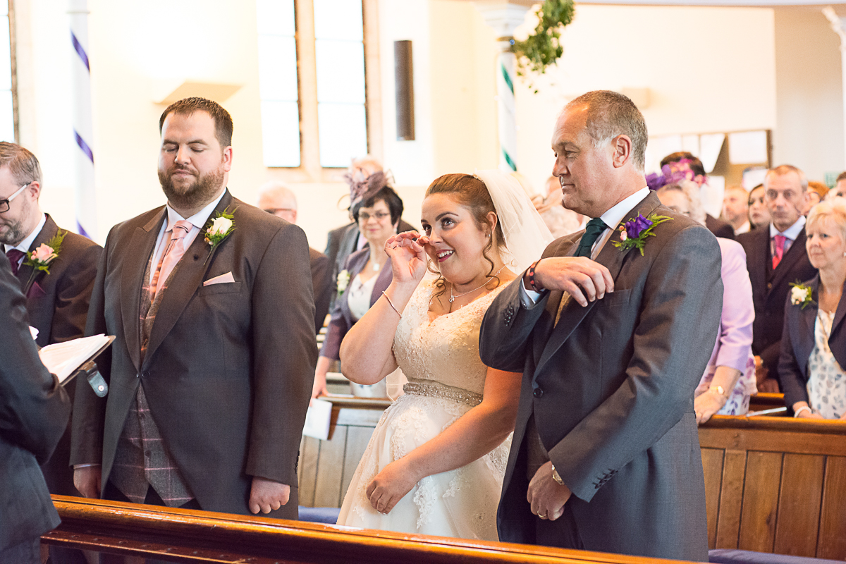 happy tears at porthleven methodist church