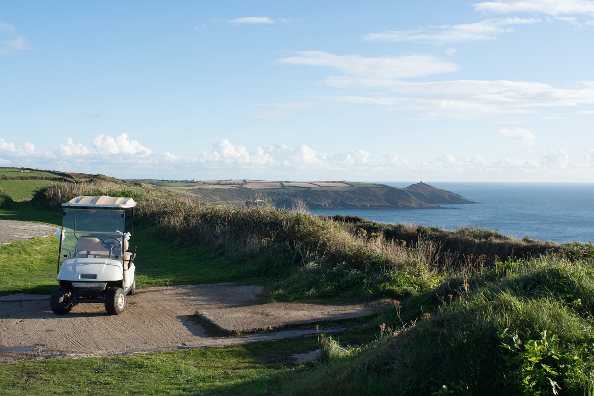beautiful view from the whitsand bay fort clifftop