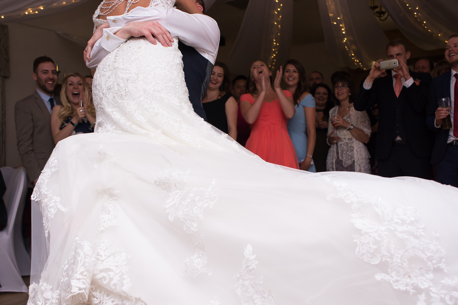 beautiful first dance at boringdon hall wedding in plymouth