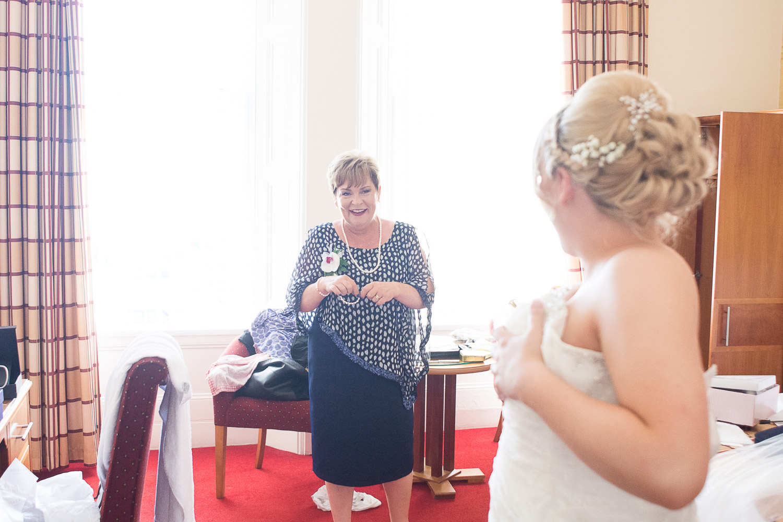 one very proud mum at the Headland Hotel Torquay