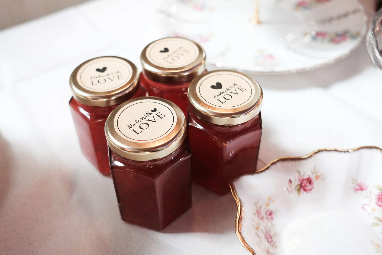 Scrumptious Strawberry jam made by Laura