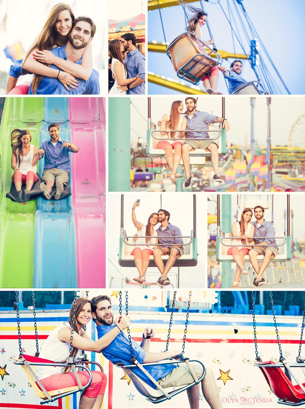Engagement at a Fair