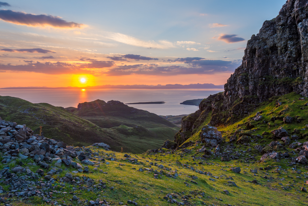 Sunrise from the Quiraing 1