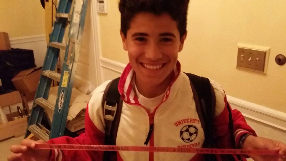 """The rain on my soccer field"" Nico, San Francisco, Age 14"