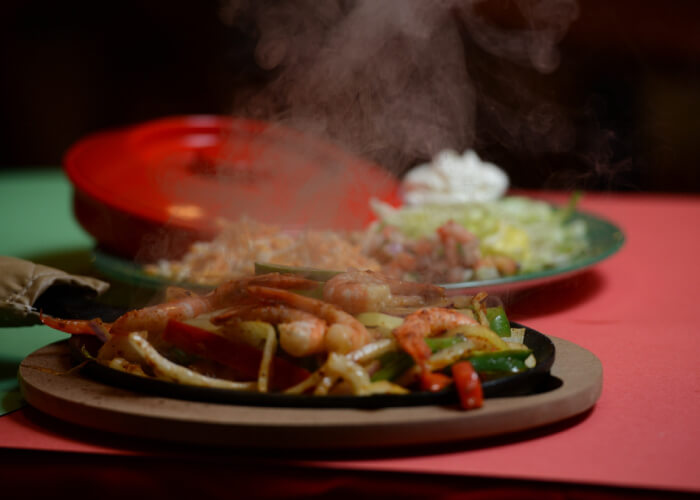 fresh and delicious food at taco n tequila