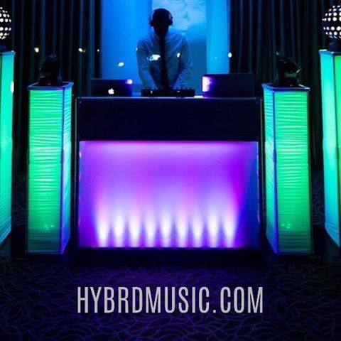 #djlife #hybrdentertainment #weddings #venues #music #party #dancing #booth #lighting #throwbackthursday #instagrid