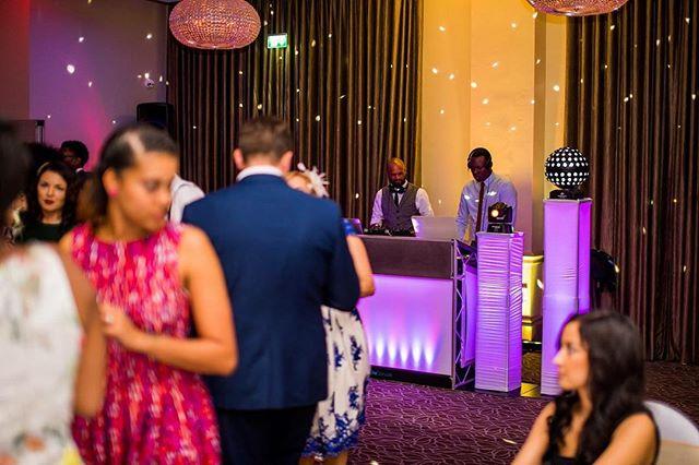 - Photo credit @jamesaphotography.co.uk #hybrdentertainment #weddings #venues #music #party #dancing #booth #lighting #traktordj #seratodj #throwbackthursday